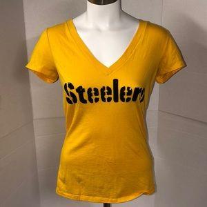 Victoria's Secret Pink Loves Sunday Steelers Shirt